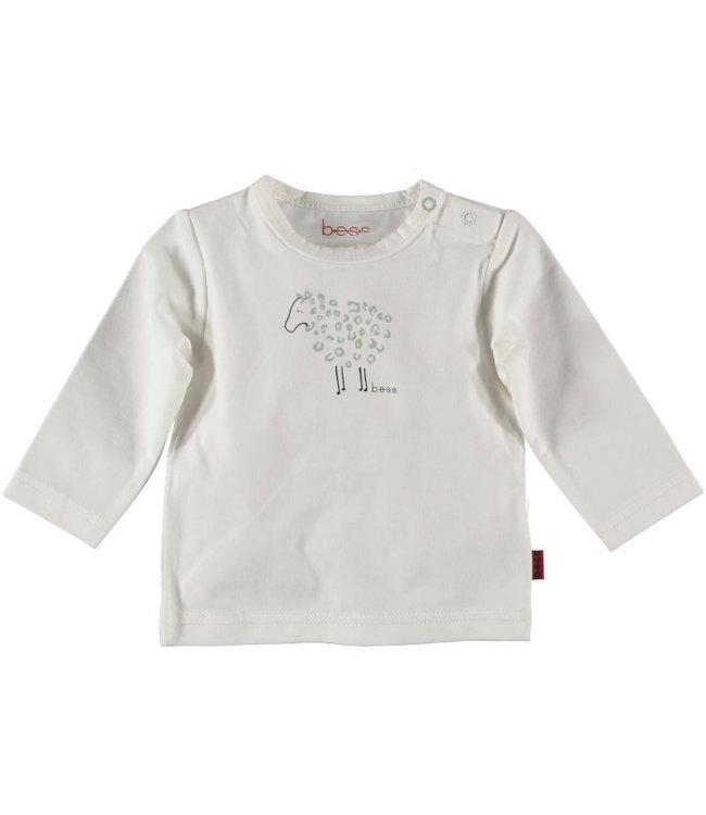 Bess Bess Shirt l.sl. Sheep Off White 21261-034