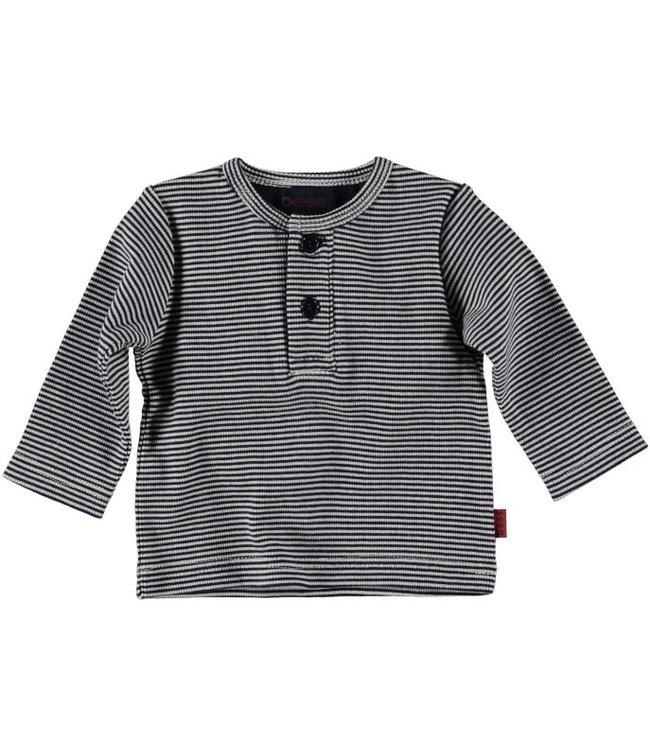Bess Bess Shirt l.sl. Striped Blue 21263-005
