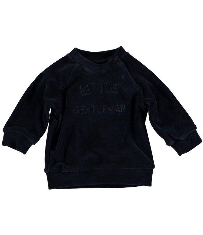 Bess Bess Sweater Velvet Blue 21275-005