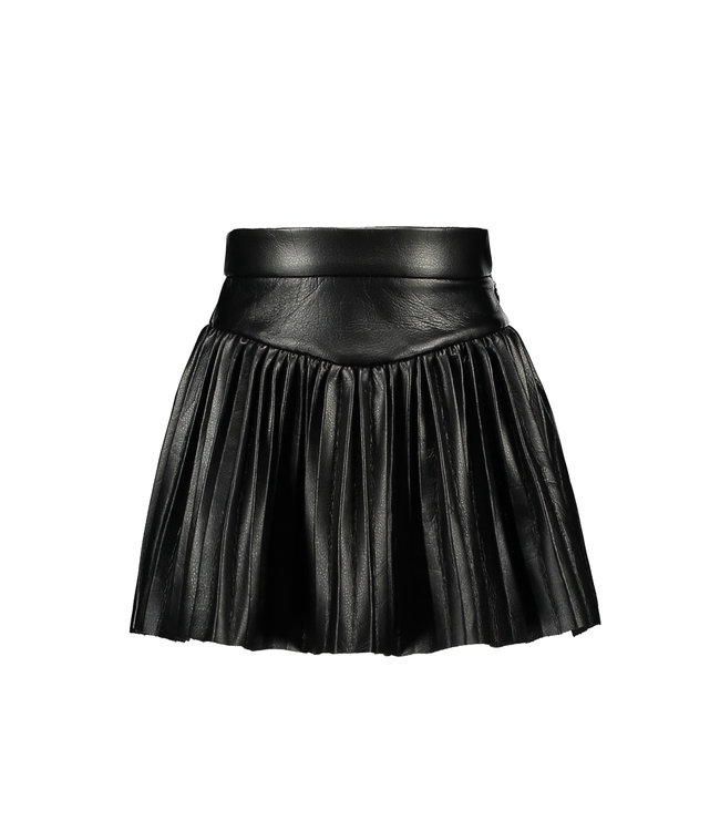 B.Nosy B-nosy Girls metallic plissé skirt Black Y109-5701 099