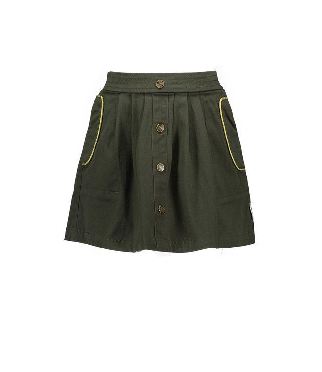 B.Nosy B-nosy Girls twill skirt with fabric belt Forest Y109-5750 380