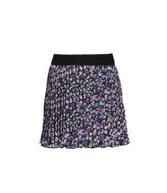 B.Nosy B-nosy Girls outside floral aop woven plissé skirt outside floral AO Y109-5790 083