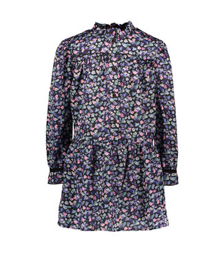 B.Nosy B-nosy Girls outside floral aop woven dress outside floral AO Y109-5890 083