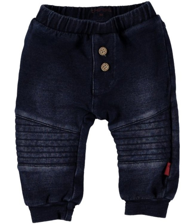 Bess Bess Pants Jogdenim Dark Wash 21292-022