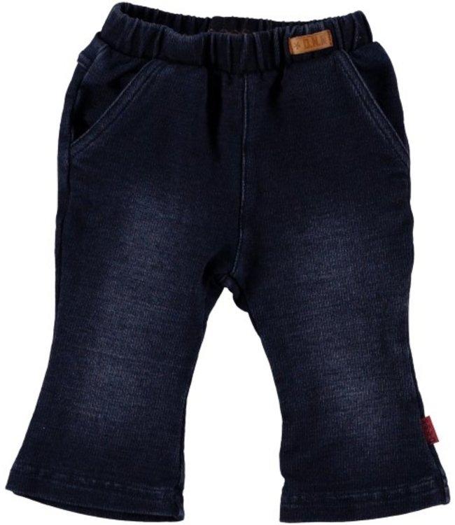Bess Bess Pants Flared Dark Wash 21296-022
