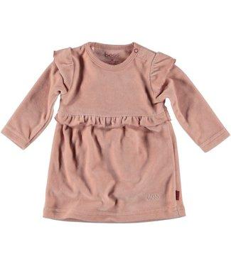 Bess Bess Dress Velvet Dusty Rose 21305-038