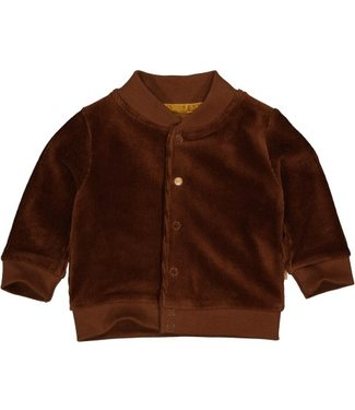 Quapi newborn Cardigan MARNIX NBW21 Brown Choco