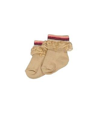 Quapi newborn Socks MIRTE NBW21 Sand