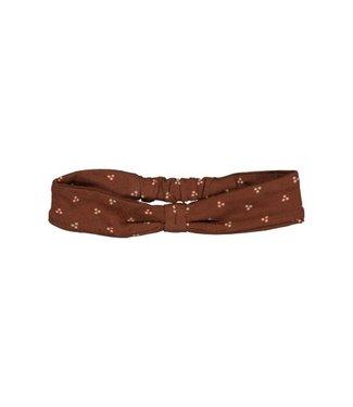 Quapi newborn Headband MIREI NBW21 AOP Brown Choco Dot