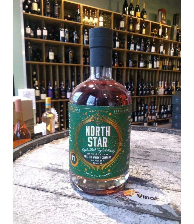 Distilled at the English Whisky Company 11 years North Star Spirits