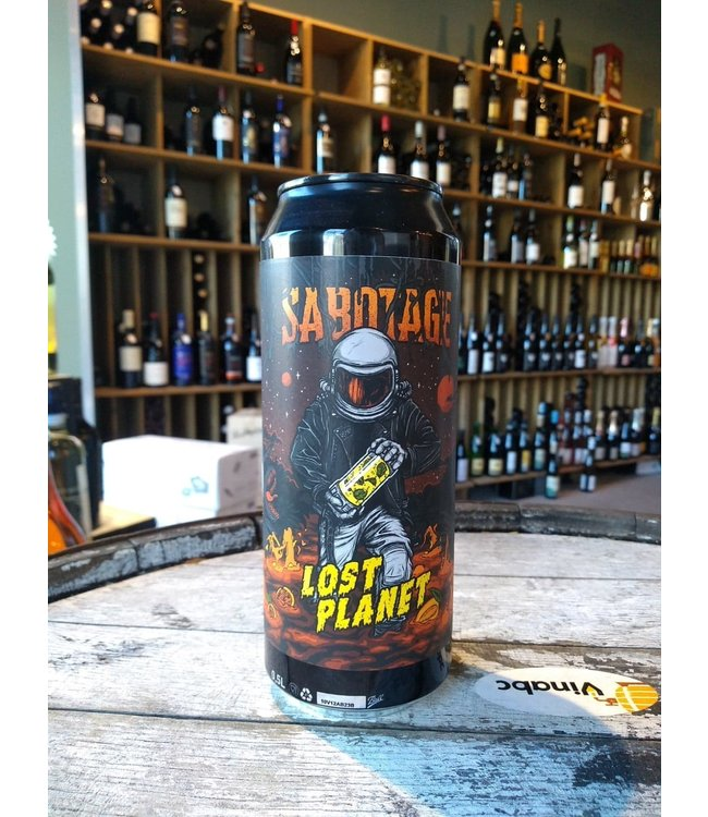 Sabotage - Lost Planet: mango, mint & passion fruit