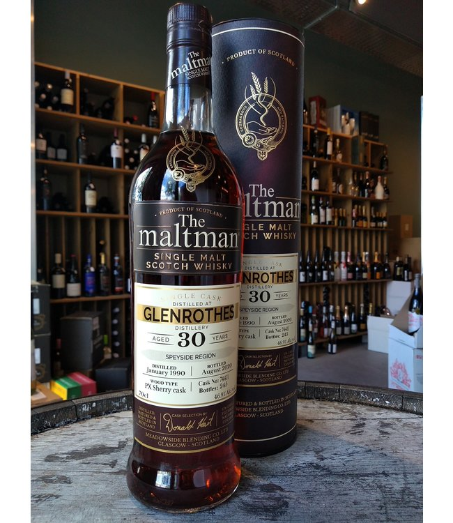 Glenrothes 1990 - 30 years - The Maltman