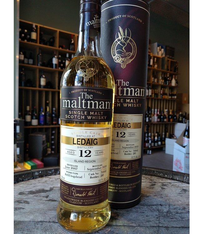 Ledaig 2007 - 12 years - The Maltman