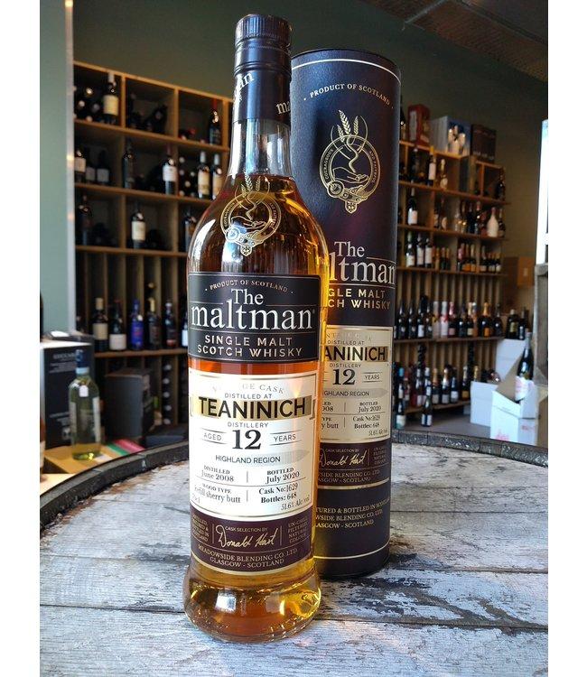 Teaninich 2008 - 12 years - The Maltman