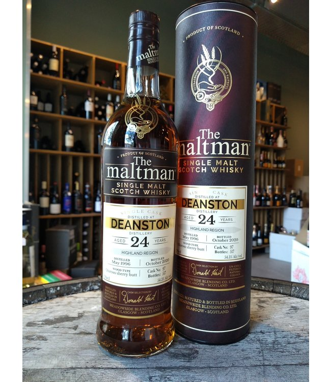 Deanston 1996 - 24 years - The Maltman