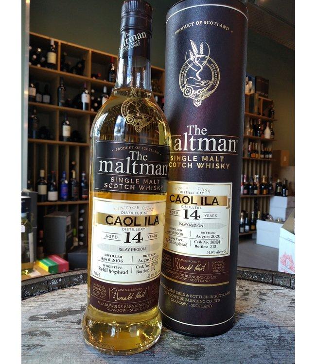Caol Ila 2006 - 14 years - The Maltman