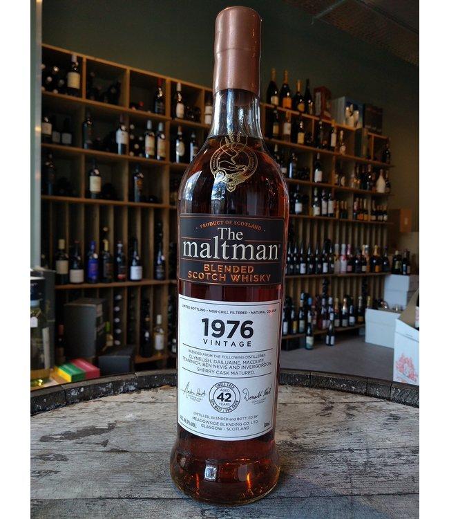 Blended Scotch Whisky 1976 - The Maltman