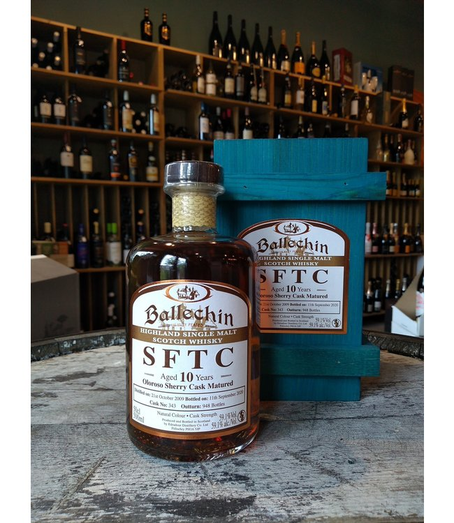 Ballechin 2009 - 10 years - Straight From the Cask