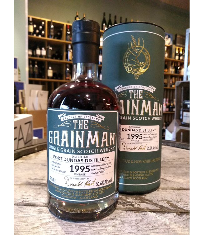 Port Dundas 1995 -  25 yers old - The Grainman