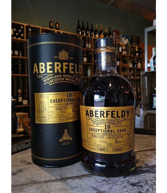 Aberfeldy 2002 - 18 years - Exceptional Cask Series
