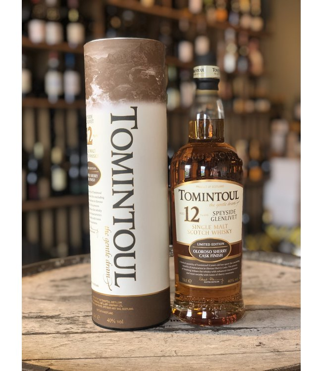 Tomintoul 12 years Oloroso sherry cask finish