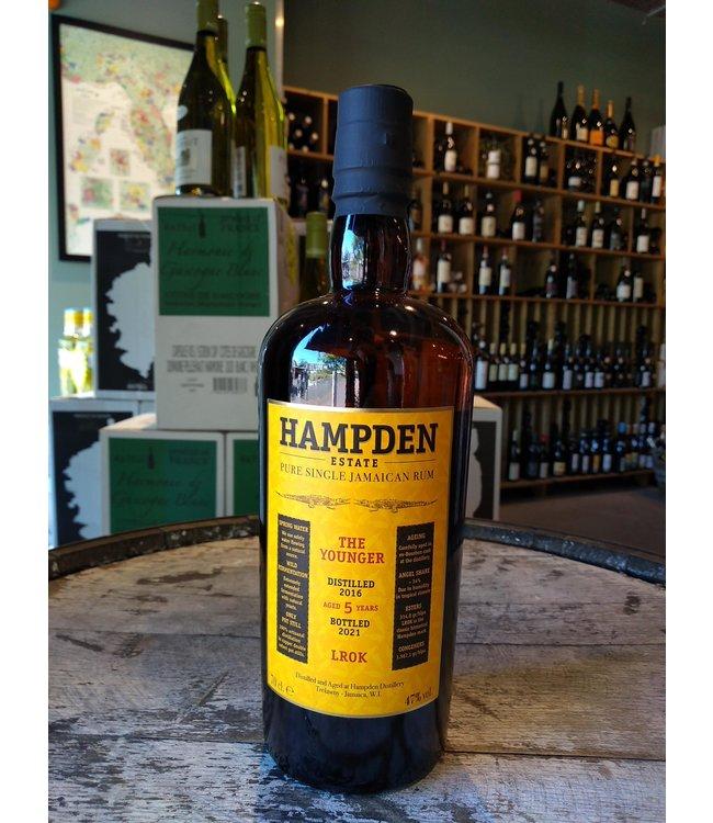 HAMPDEN Estate Rum LROK The Younger 2016