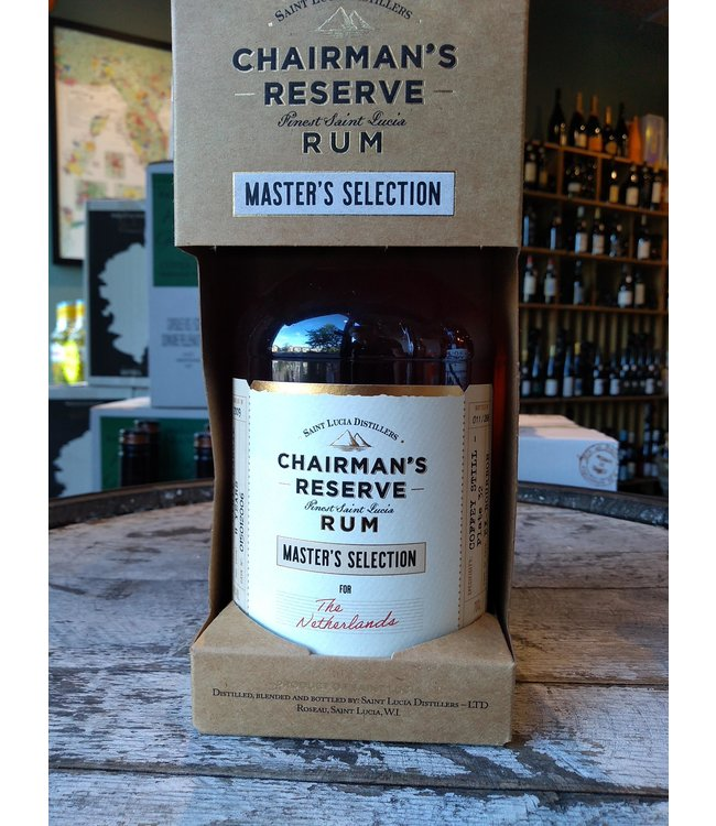 Chairman's Reserve - rum - Master's Selection - Specially Selected for the Netherlands