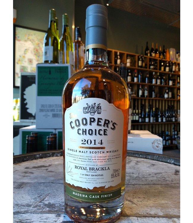 Royal Brackla 2014 Madeira finish - Coopers Choice
