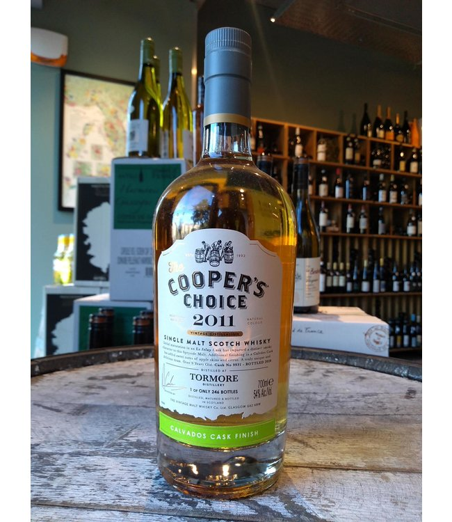 Tormore 2011 Calvados cask finish - Coopers Choice