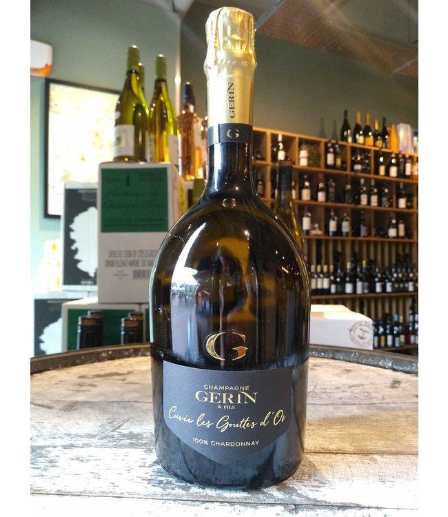 Champagne Gerin Cuvée Les Goutes D'or 100% chardonnay