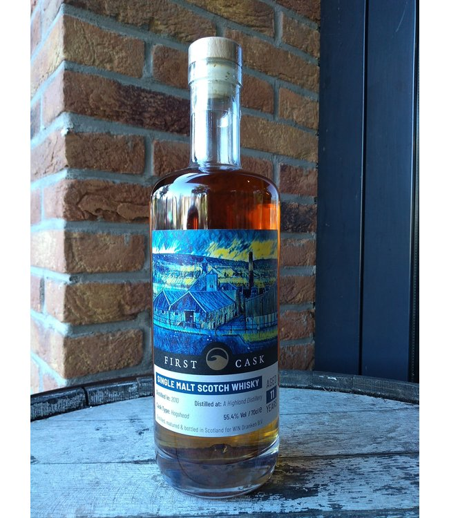 First Cask Distilled at A Highland Distillery 2010 (Clynelish)