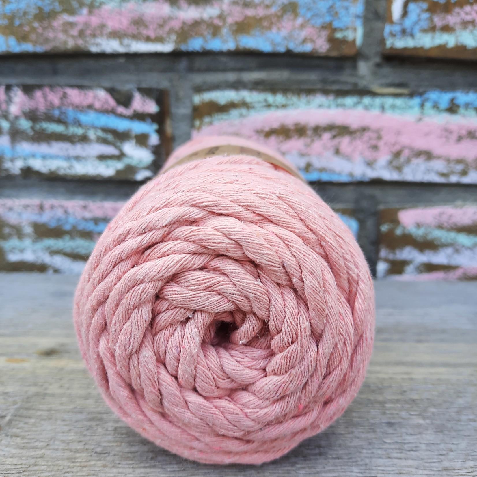 Macrame garen 3mm Zalm roze