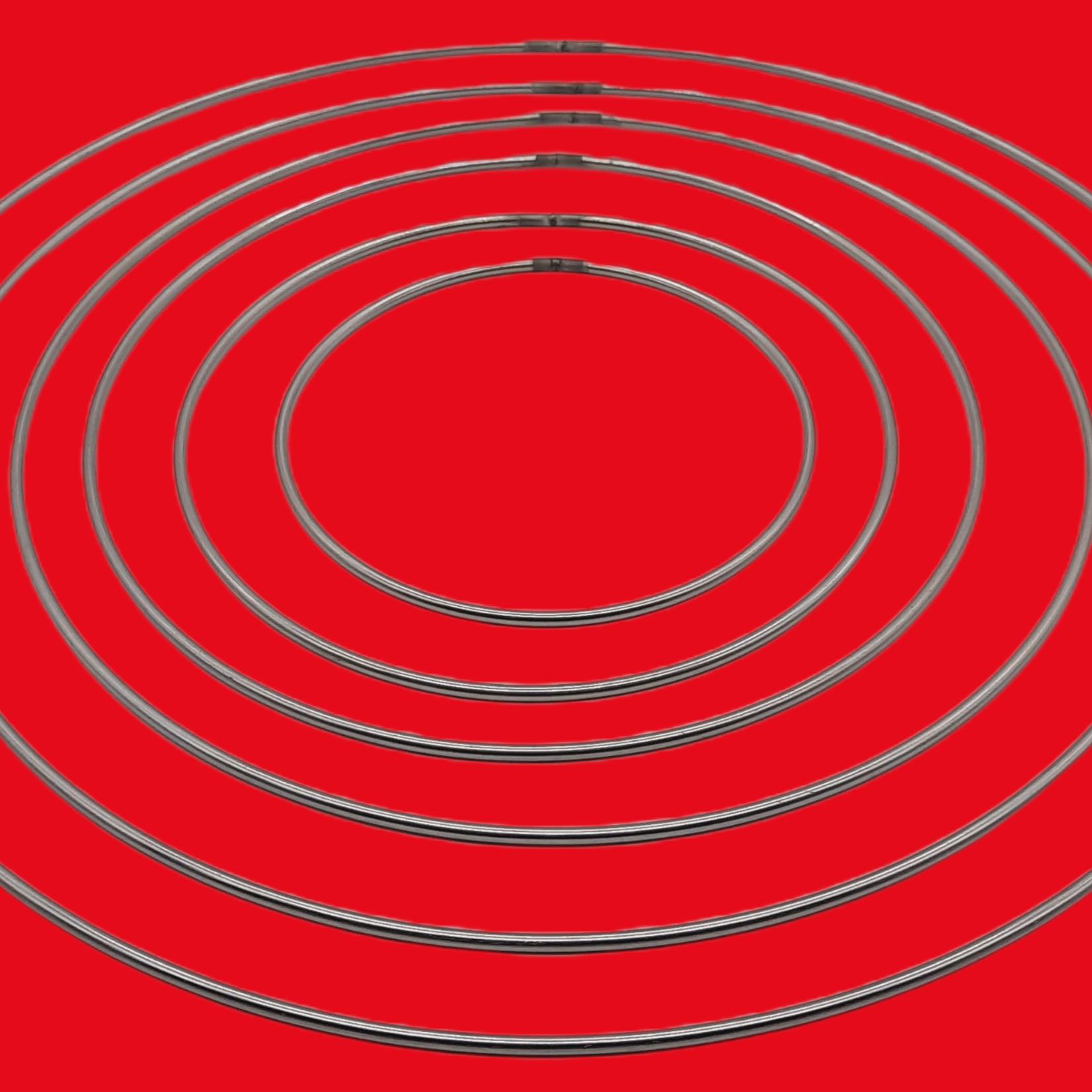 Metalen ringen set