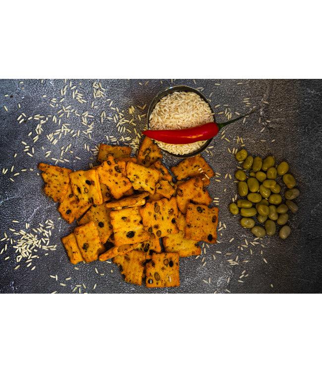 Soja crackers Spicy Lemon