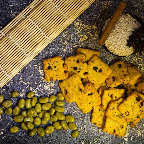 Rijstcrackers & Zoutjes
