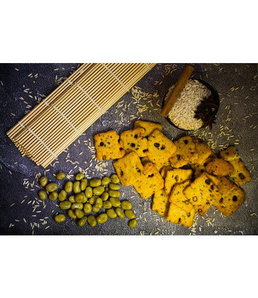 Soja Crackers Teriyaki
