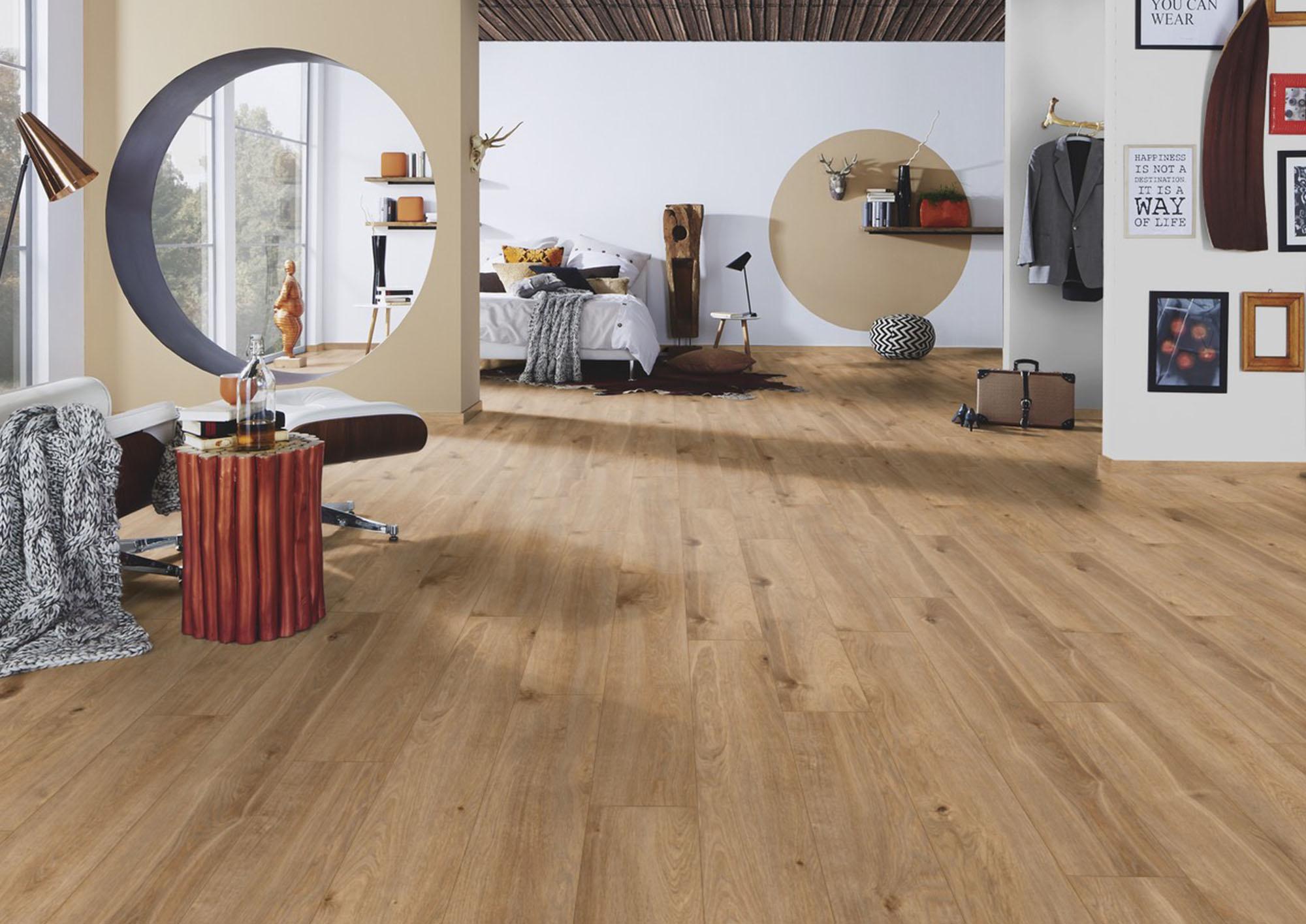 Solar Oak Laminate Flooring 8mm, 8mm Oak Laminate Flooring