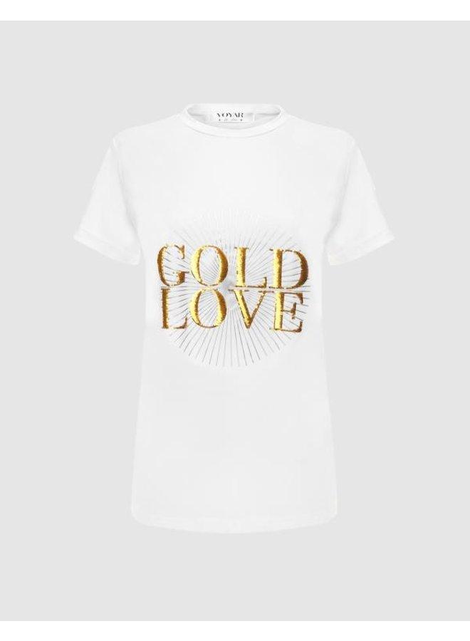Voyar Tilda Party t-shirt  White print 2005.017
