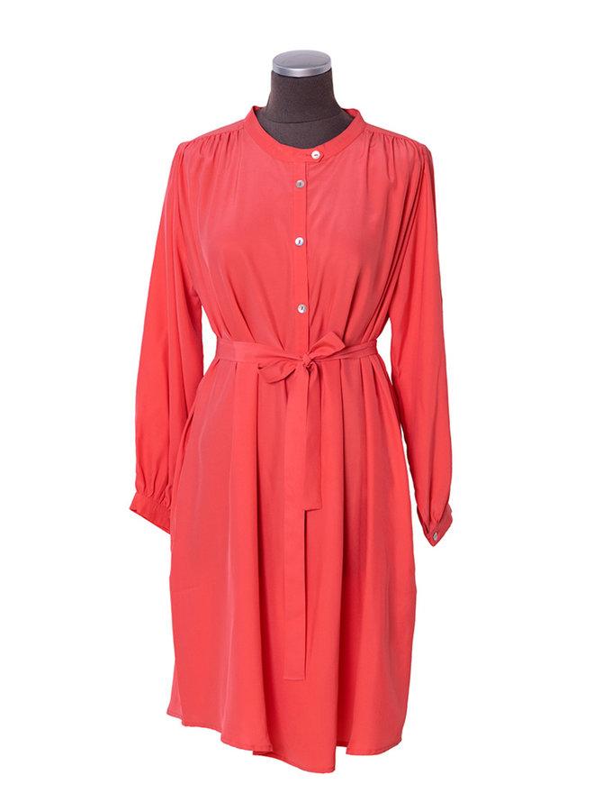 Dutchess Toga dress Toffee 0009