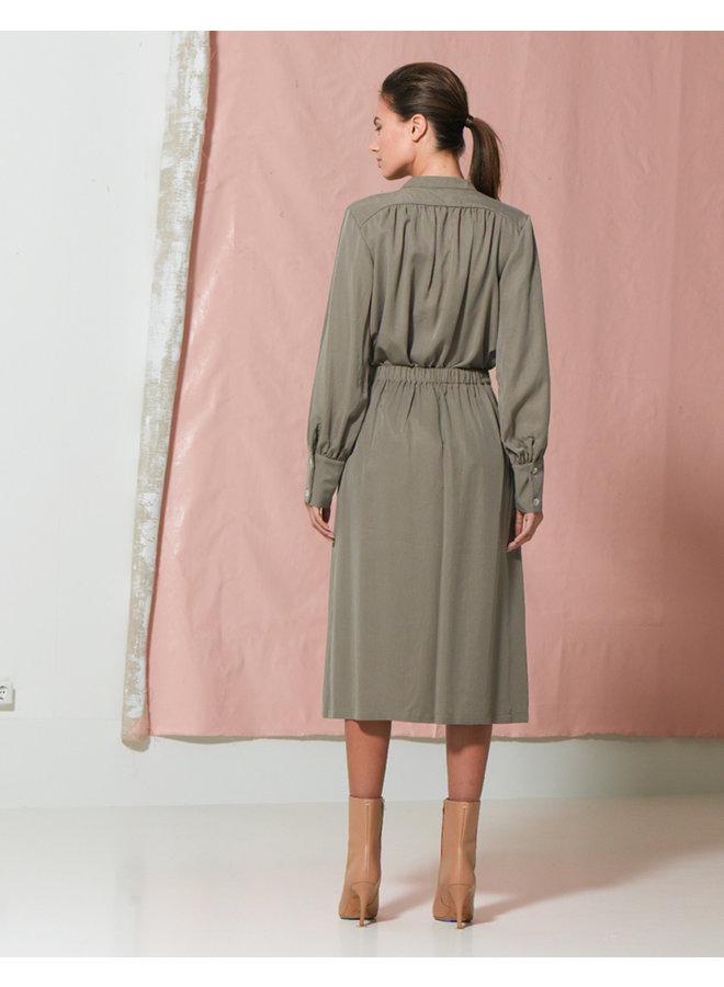 Dutchess Thalia blouse Khaki 00002