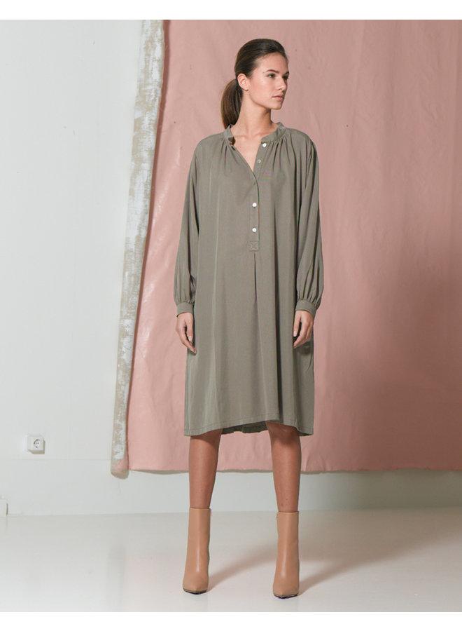 Dutchess Liberty Dress Khaki 00001