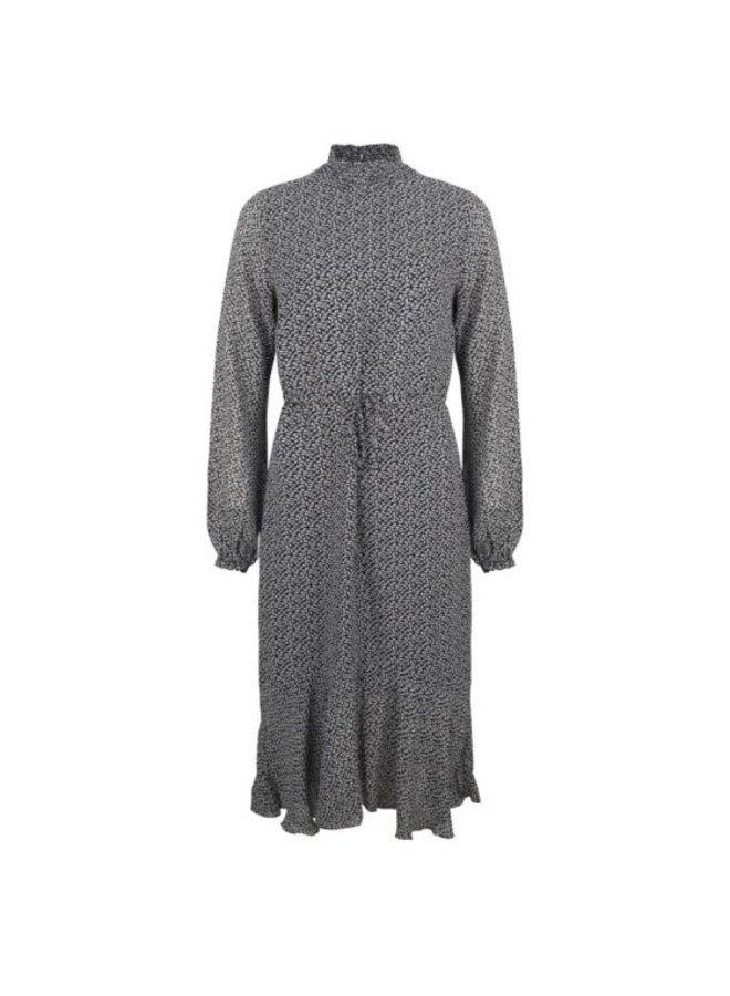 Esqualo dress minimal print