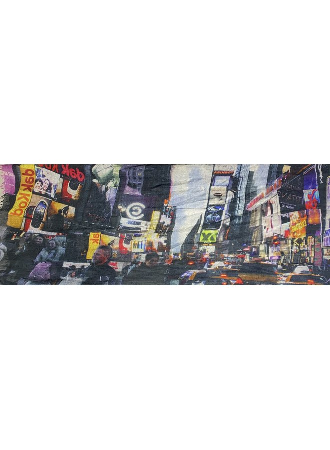 Otracosa shawl groot Times Square New York