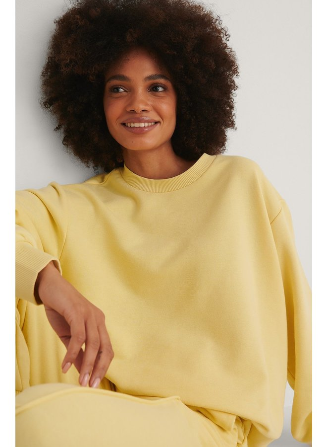 NA-KD Basic Sweater Yellow 1660-000213