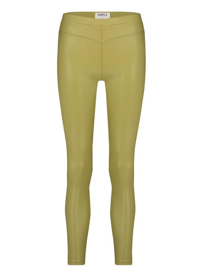 Simple Peet Moss green legging PU PU-BI-Stretch-01