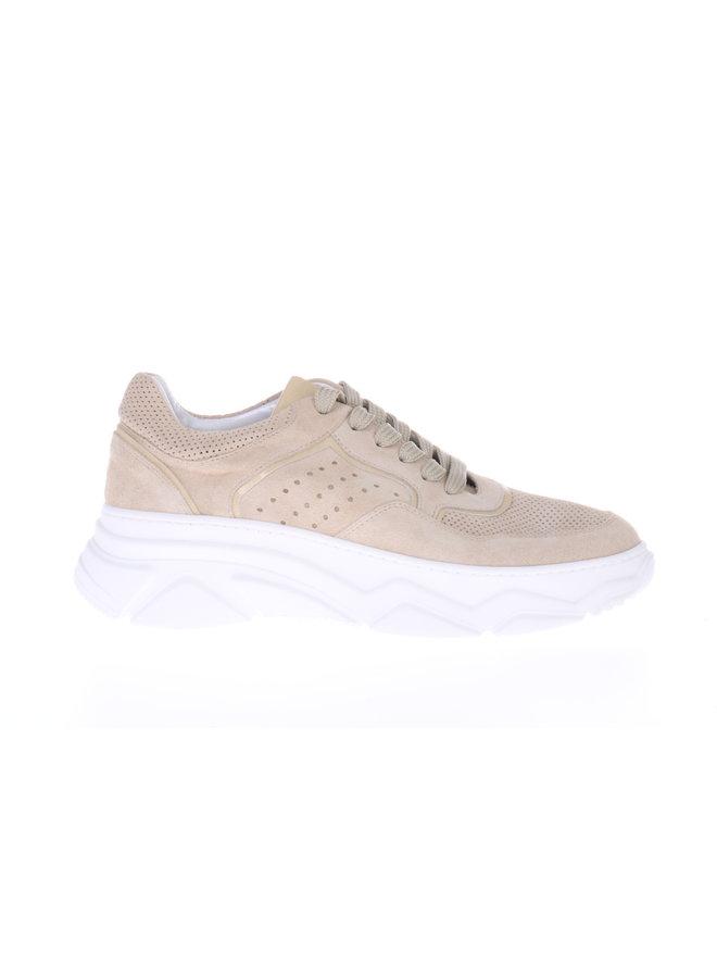 HIP Sneaker Beige suede D1760-212-22SU-0000-0000