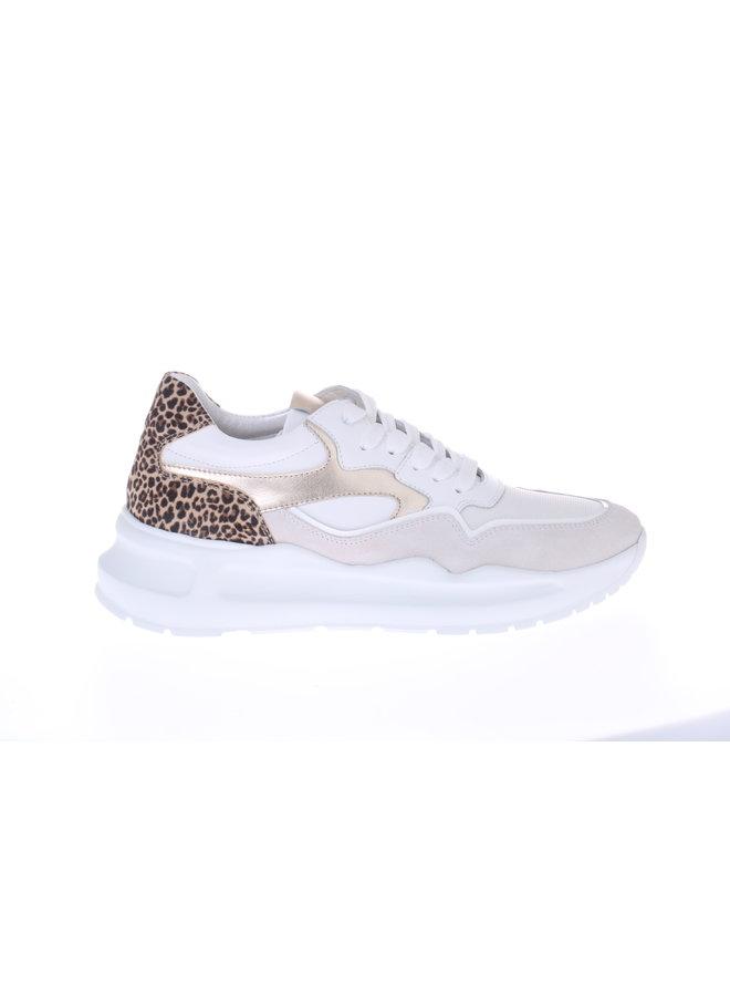 HIP Sneaker wit suede D1355-212-30SU-30CV-22ML