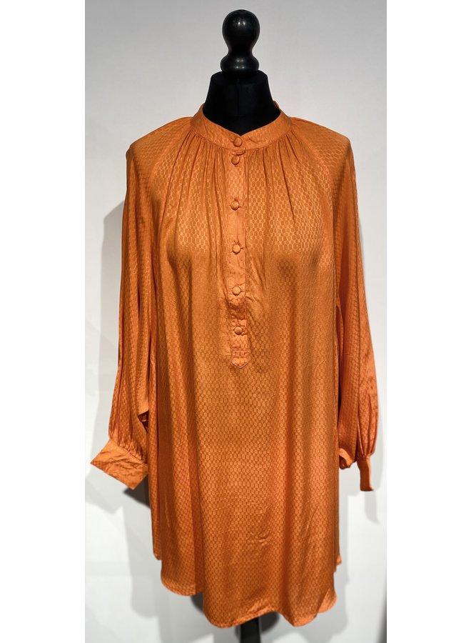 Genesis Sofia Dress Voyageurs Plain Flame 10007