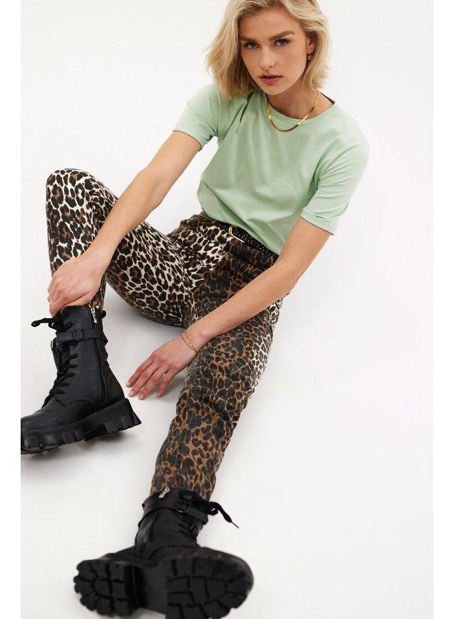 Loavies The perfect basic tee Green LOAV85150