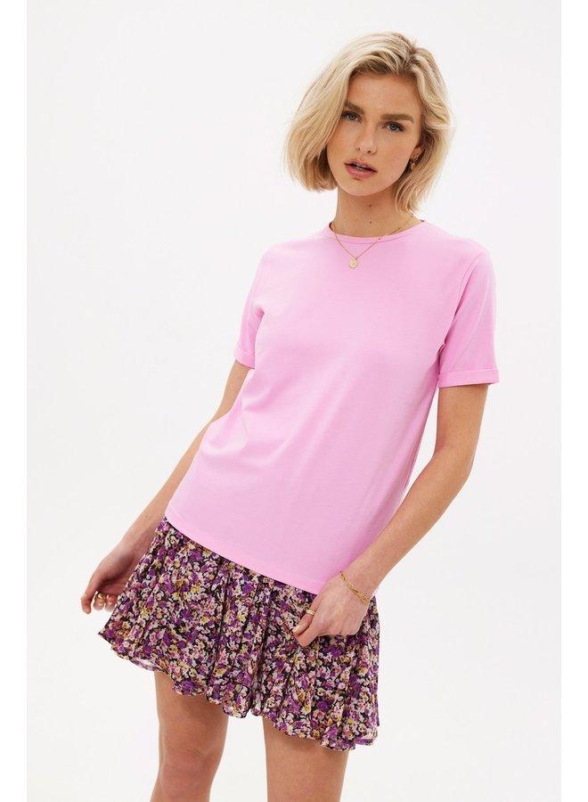 Loavies The perfect basic tee Pink LOAV85148
